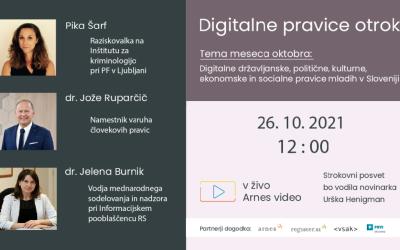 Strokovni posvet o digitalnih pravicah otrok